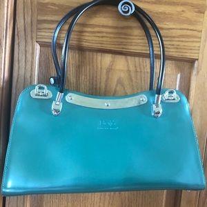 Beijo green hand bag, never used